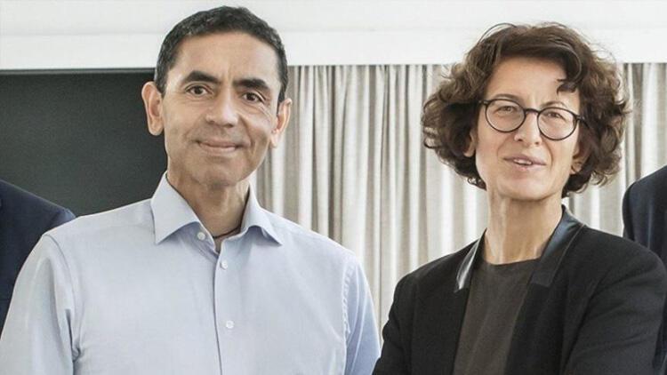 Koronavirüs aşısının mucitleri Prof. Dr. Uğur Şahin ve eşi Özlem Türeci'ye bir müjde daha
