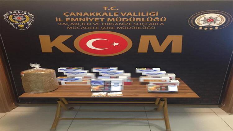 Çanakkale'de kaçak sigara denetimi