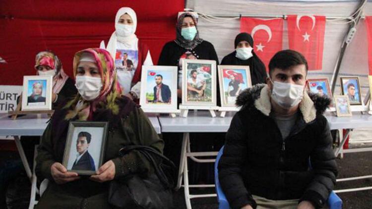 HDP önündeki eylemde 467'inci gün; aile sayısı 178 oldu