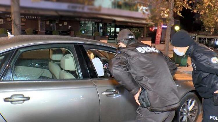 Denetim sırasında polis kontrol noktasından kaçtı!