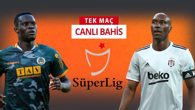 Beşiktaş kazanırsa Süper Lig'in zirvesi karışacak! Alanyaspor'a verilen iddaa oranı...