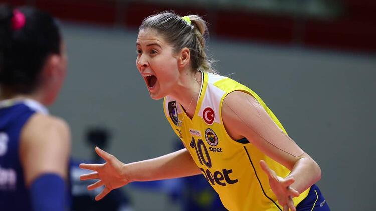 Misli.com Sultanlar Ligi   Fenerbahçe Opet: 3 - Karayolları: 2