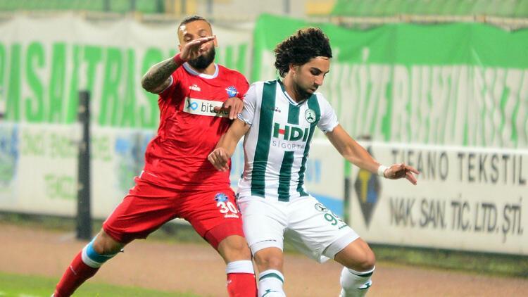 Giresunspor: 2 - Adana Demirspor: 0