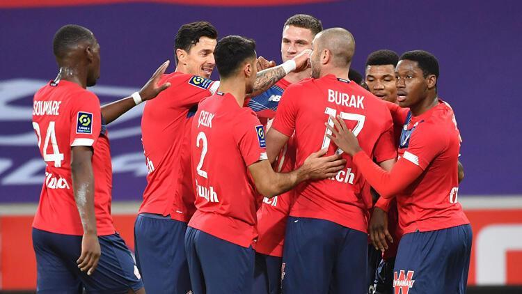 Lille, maç fazlasıyla liderliğe yükseldi