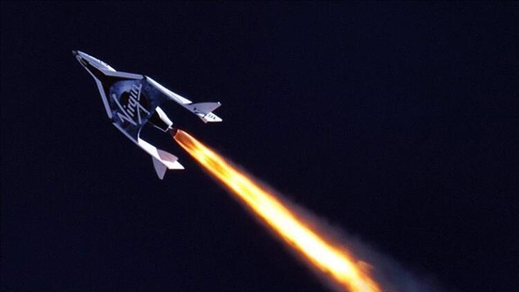 Virgin Galactic'in yörünge altı test uçuşu başarısızlıkla sonuçlandı
