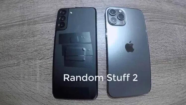 iPhone 12 Pro Max ile Galaxy S21 Plus yan yana geldi