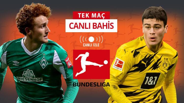 Almanya Bundesliga CANLI YAYINLA Misli.com'da! Stuttgart'tan 5 yiyen Dortmund'un iddaa oranı...