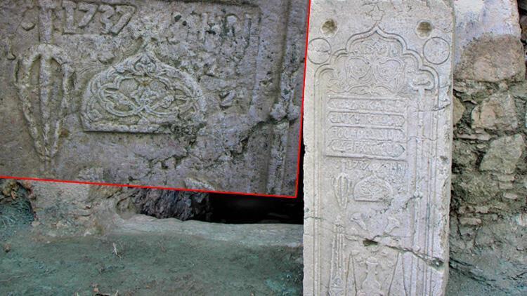 Amasya'da 'rahip mezarı' bulundu! 1737 yılı tarihi ifadeleri..