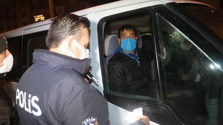 Adana'da sokağa çıkma kısıtlamasına uymayan 7 kişiye para cezası uygulandı