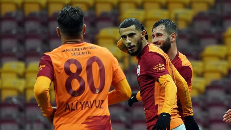Galatasaray 1-0 Darıca Gençlerbirliği (Maç özeti ve golleri)