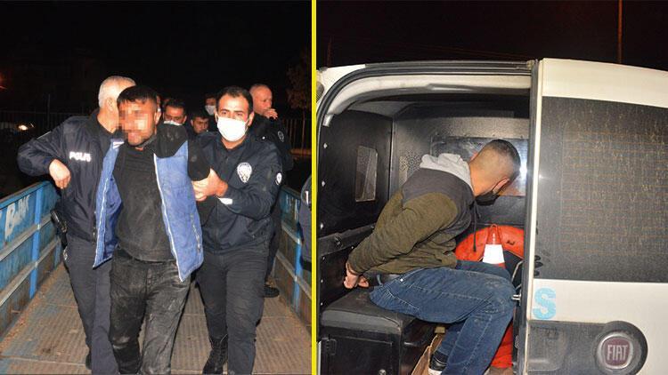 Adana'da olaylı gece! Nefes kesen kovalamaca sonucu yakalandılar
