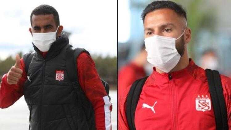 Son dakika | Sivasspor'da Marcelo Goiano ve Yasin Öztekin koronavirüsü atlattı!