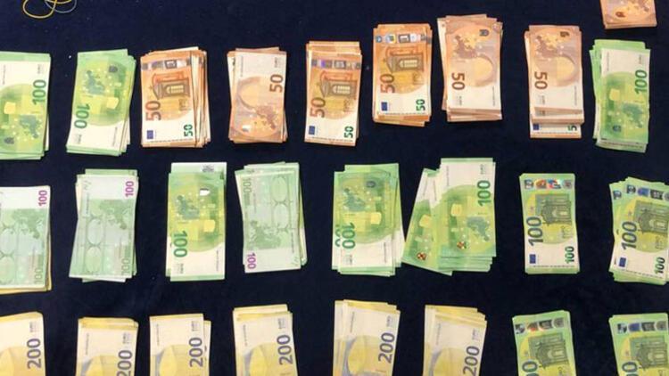 Polis, bu paraların hepsine el koydu