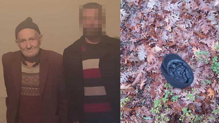 Bursa'da, 3 gündür kayıp olarak aranan Fehmi Arık'ın şapkasına ulaşıldı