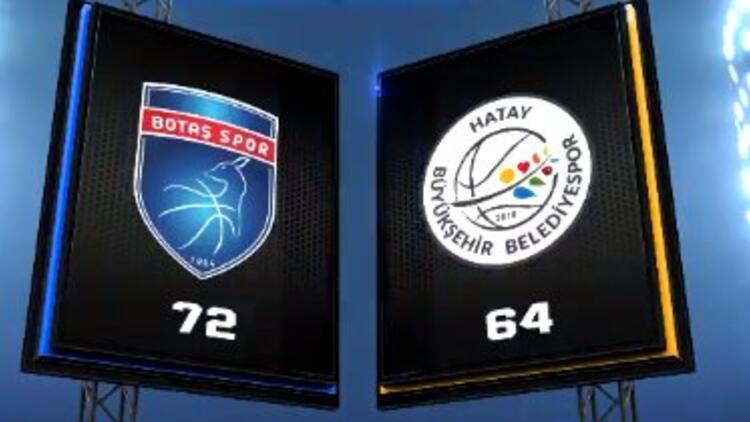 Kadınlar Basketbol Süper Ligi | BOTAŞ 72-64 Hatay Büyükşehir Belediyespor