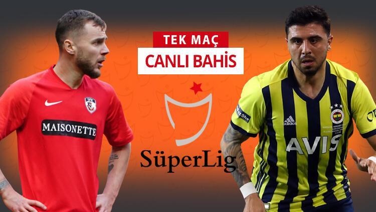 Fenerbahçe 6 eksikle Gaziantep'te! Galibiyetlerine iddaa'da...