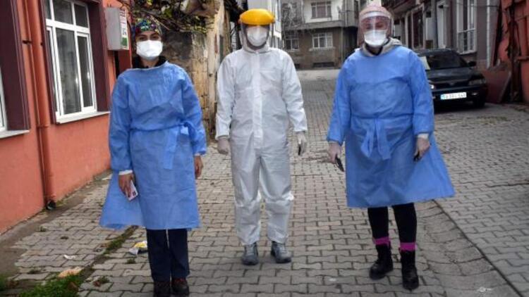 Filyasyon ekiplerinin ev ev dolaştığı Tekirdağ'da vaka sayıları yüzde 30 düştü