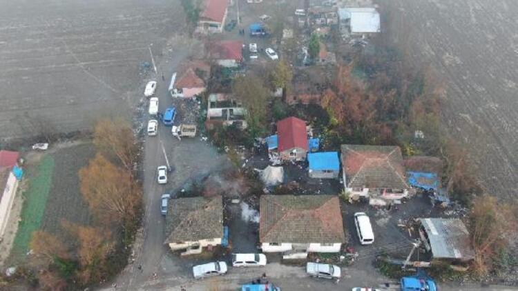 Sakarya'da 150 jandarmayla suç örgütüne operasyon: 11 gözaltı