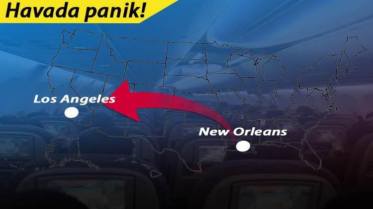 Son dakika... United Airlines uçağında korona semptomları taşıyan yolcu yaşamını yitirdi