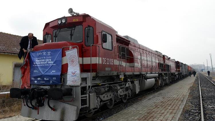 Son dakika... Çin'e gidecek olan ikinci ihracat yük treni yola çıktı