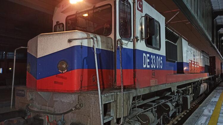 Çin'e gidecek ikinci ihracat treni Ankara'da geçişini tamamladı