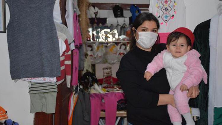 SMA hastası Kumsal bebeğe destek kermesi