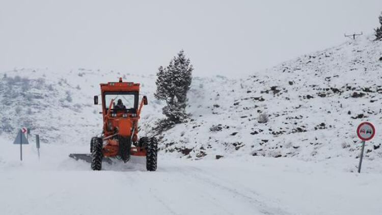 Tunceli'de kar yağışı hayatı olumsuz etkiledi