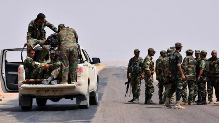 Suriye'de İran destekli gruplara düzenlenen hava saldırısında 8 terörist öldü