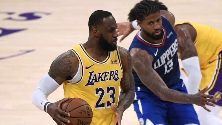 NBAde Gecenin Sonuçları | Son şampiyon Lakers, derbide Clippersa kaybetti