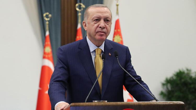 Son dakika... Cumhurbaşkanı Erdoğan, Arnavutluk'taki temel atma törenine katıldı
