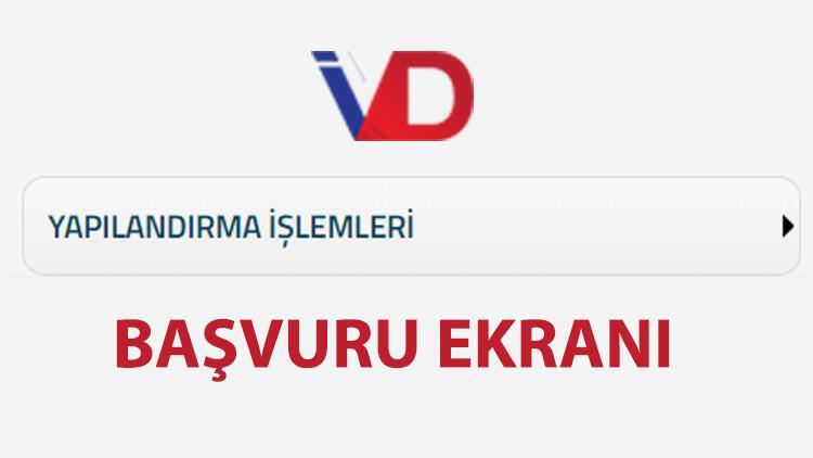 Vergi borcu yapılandırma E-Devlet ekranı KYK, MTV, SGK vergi borcu yapılandırma için sona yaklaşılıyor