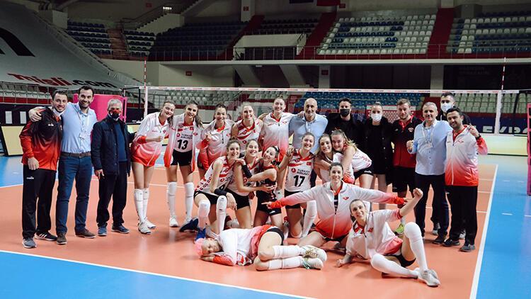Misli.com Sultanlar Ligi | Türk Hava Yolları 3-0 Beşiktaş