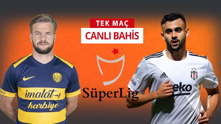 Beşiktaş, Ankara'ya 5 eksikle gitti! Ankaragücü karşısında galibiyetlerine iddaa'da...