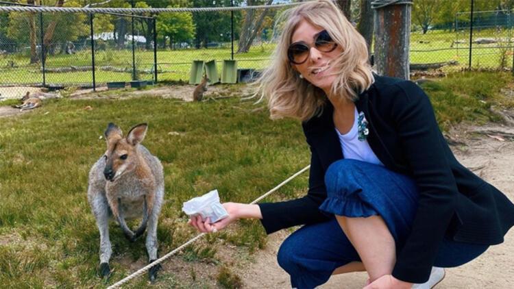 Zerrin Tekindor kanguru besledi