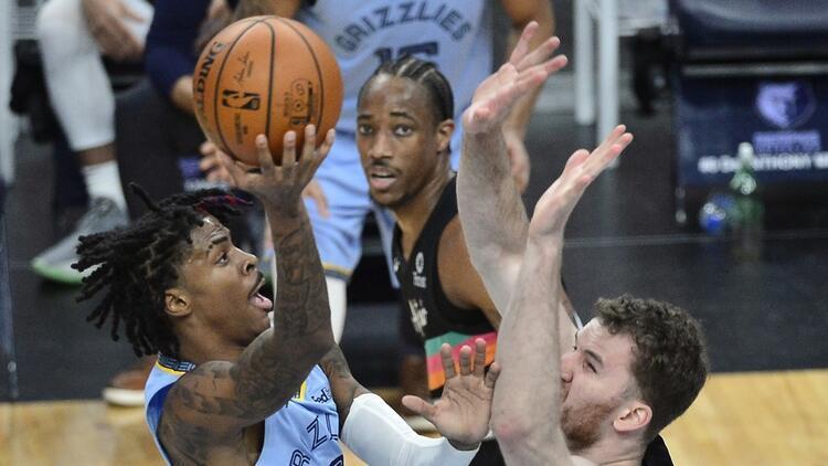 NBA'de Gecenin Sonuçları | Morant'in 44 sayısı Grizzlies'e yetmedi! Furkan ve Cedi'den 11'er sayı...