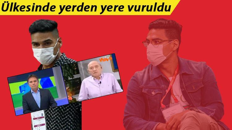 Galatasaray'ın yıldızı Falcao için ülkesinden şok sözler: Ondan utandım