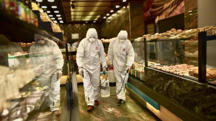 Fatih'te fırınlar dezenfekte edildi