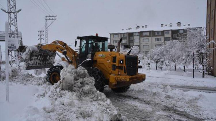 Bitlis'te kapalı köy yolları, ulaşıma açılıyor