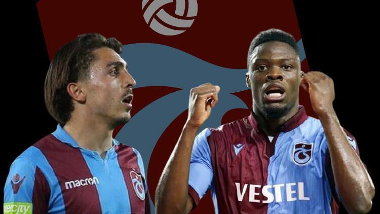 Trabzonspor'da Galatasaray maçı öncesi Caleb Ekuban ve Abdülkadir Ömür şoku!