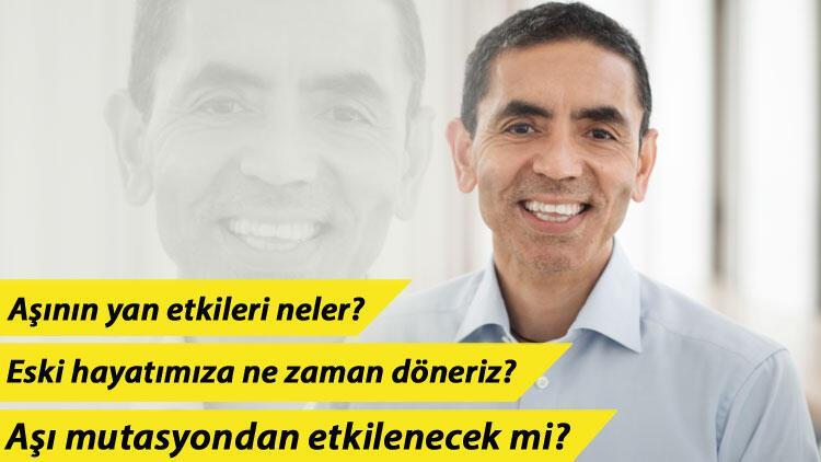 Uğur Şahin'den Türkiye müjdesi! 'Üretim alanı açmayı planlıyoruz'