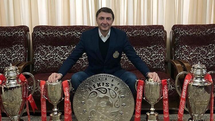 Şota Arveladze, Özbekistan'da ikinci kez! Ligin en iyi teknik direktörü...
