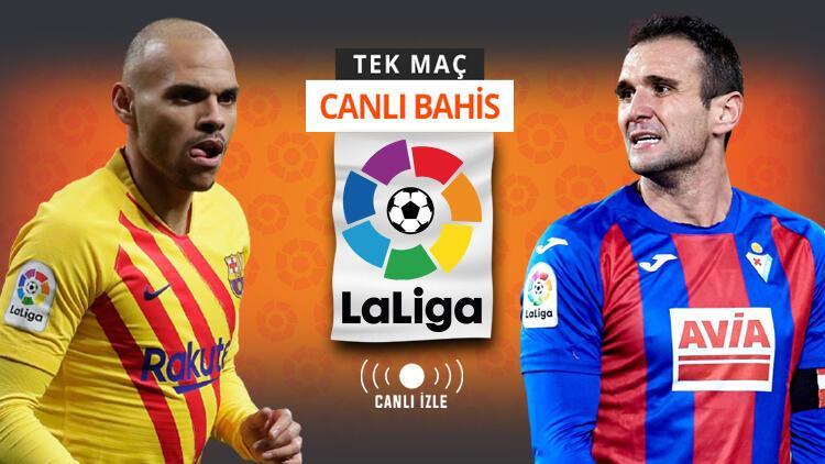 Barcelona'da Messi yok! Eibar karşısında galibiyetlerine iddaa'da...