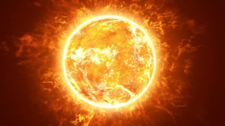Güneş'te Dünya'dan büyük leke görüntülendi