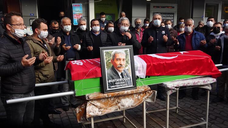CHP İncirliova eski İlçe Başkanı Mustafa Çelik, toprağa verildi