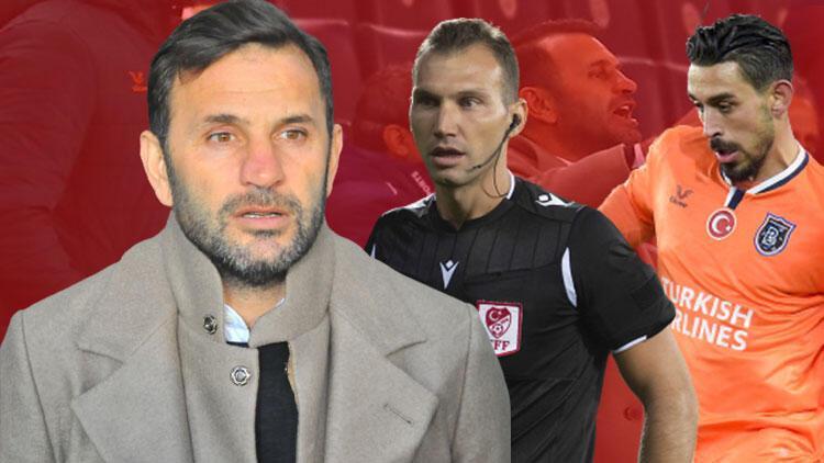 Son Dakika   PFDK'dan Başakşehir Teknik Direktörü Okan Buruk'a 5 maç ceza!