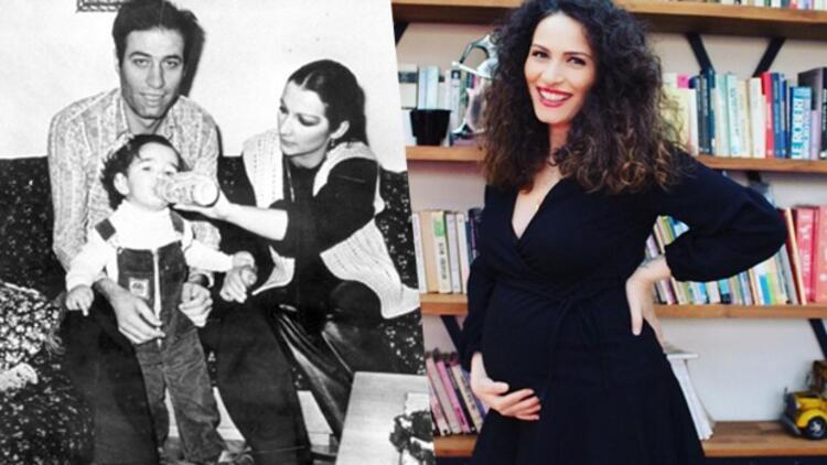 """""""Kemal bir torunumuz daha oluyor""""  Kemal Sunal'ın kızı Ezo Sunal'ın 30 haftalık hamile"""