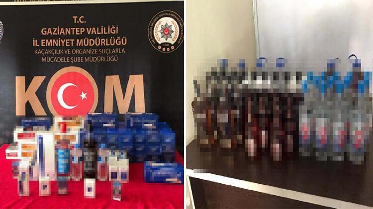 Gaziantep'te sahte içki operasyonu: 11 gözaltı