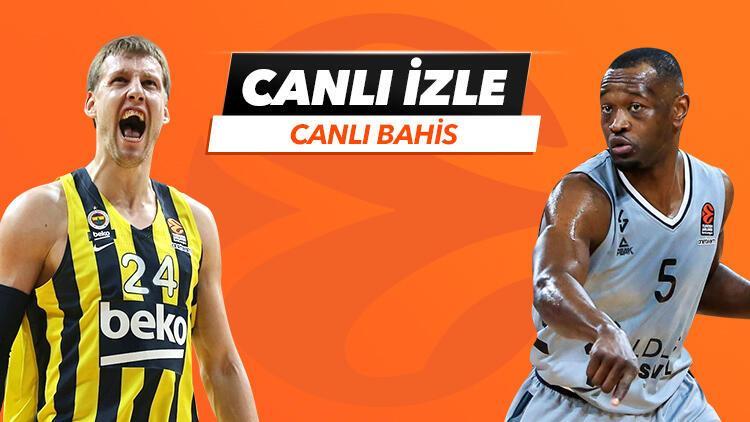 Fenerbahçe Beko'nun konuğu ASVEL! Canlı yayın ve canlı iddaa Misli.com'da...