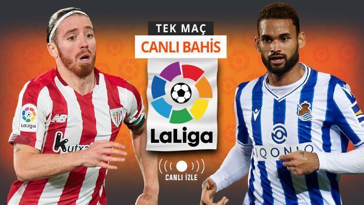 Son 6 lig maçında galibiyeti olmayan Sociedad, San Mames'de ne yapacak? Bilbao'nun iddaa oranı...