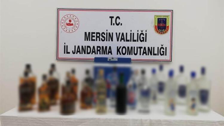 Mersin'de sahte içki operasyonu: 4 gözaltı